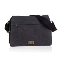 Outdoor Gear Canvas notebook táska, fekete, 35 x 25 x 12 cm