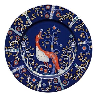 Talíř mělký Taika 22 cm, modrý