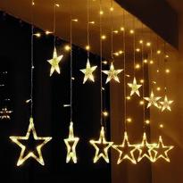 Solight Závěsné osvětlení hvězdy 1,8 m, 77 LED