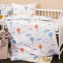 Lenjerie de pat copii, din bumbac, 4HomeNori, 100 x 135 cm, 40 x 60 cm