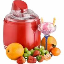 Kalorik ICE 2500 R Maszynka do lodów/jogurtów Retro, czerwony