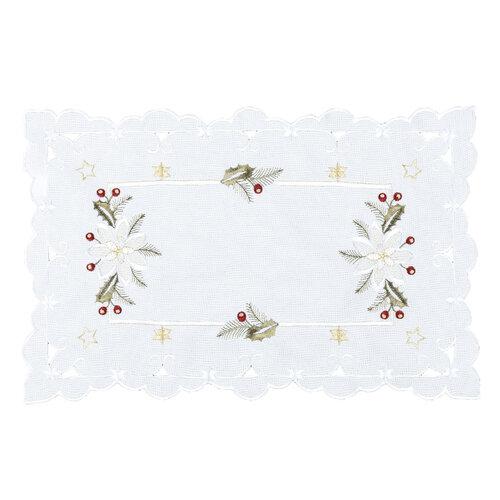 Vianočný obrus Cezmína, 30 x 45 cm