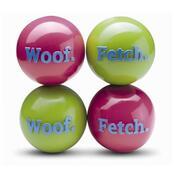 Orbee-Tuff Woof/Fetch ball, 8 cm, růžová