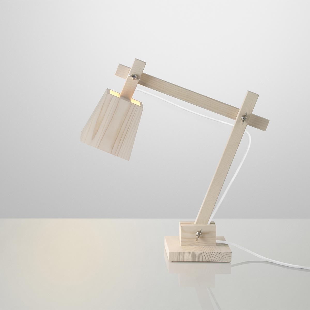 Muuto Lampa Wood 50 cm, borovica