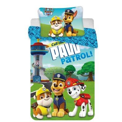Dětské bavlněné povlečení do postýlky Paw Patrol 121 baby, 100 x 135 cm, 40 x 60 cm