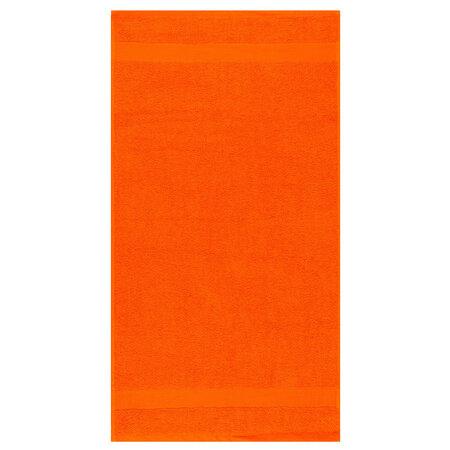 Ręcznik kąpielowy Olivia ciemnopomarańczowy, 70 x 140 cm