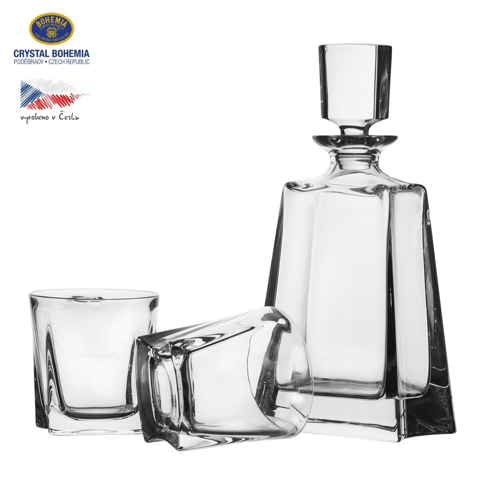 Orion Sada láhev 0,7 l a 2 ks sklenic na whisky