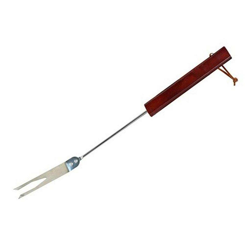 Grilovací vidlička, dřevo