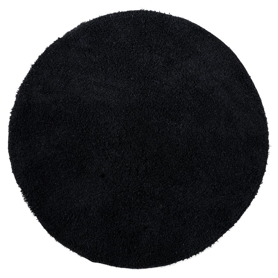 Koopman Koupelnová předložka Julius černá, 70 cm