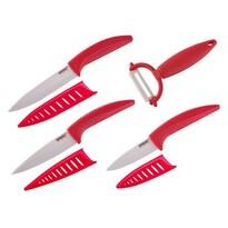 Set 7 cuțite din ceramică GOURMET CERAMIA ROSSA