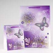 Dárková taška motýli malá 3 ks