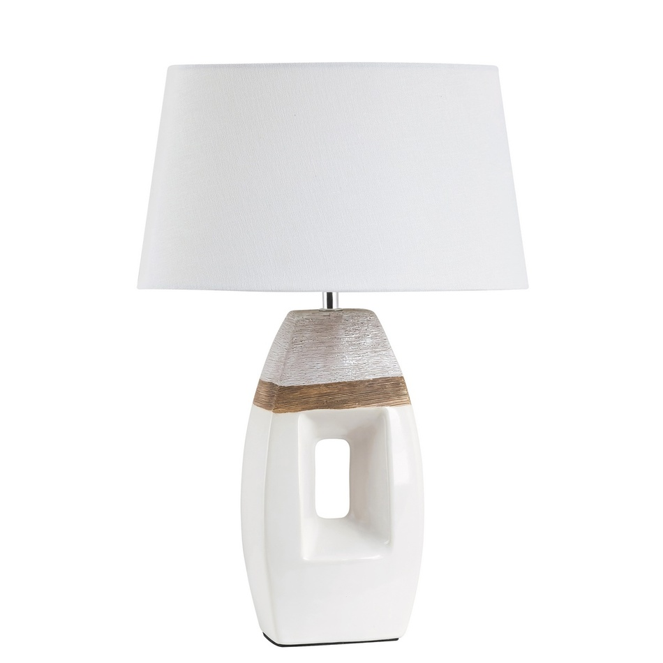 Rabalux 4387 Leah stolná lampa, biela