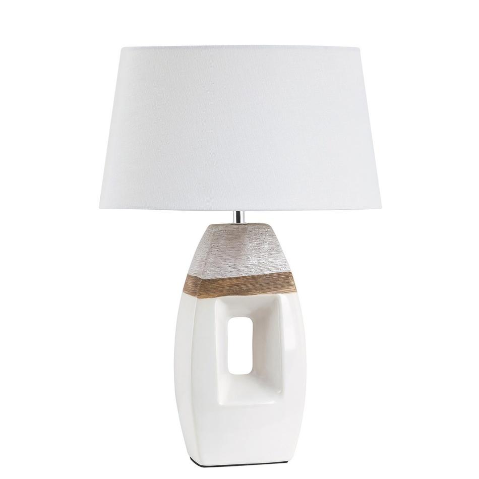 Rabalux 4387 Leah stolní lampa, bílá