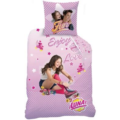 Dětské bavlněné povlečení Soy Luna Roller, 140 x 200 cm, 70 x 90 cm