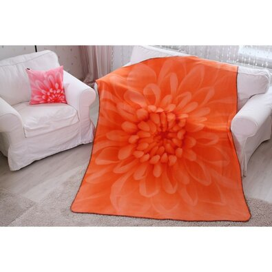 Pătură Domarex Harmony, portocaliu, 150 x 200 cm