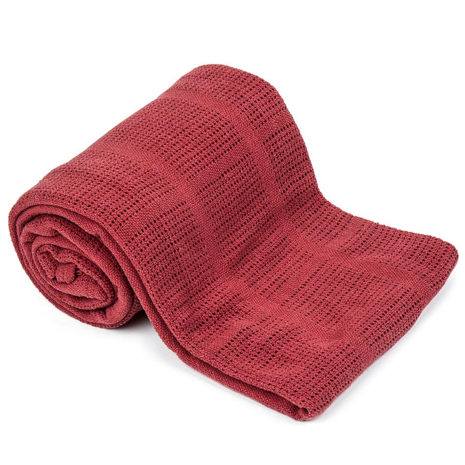 VOG Bavlněná deka červená, 150 x 200 cm