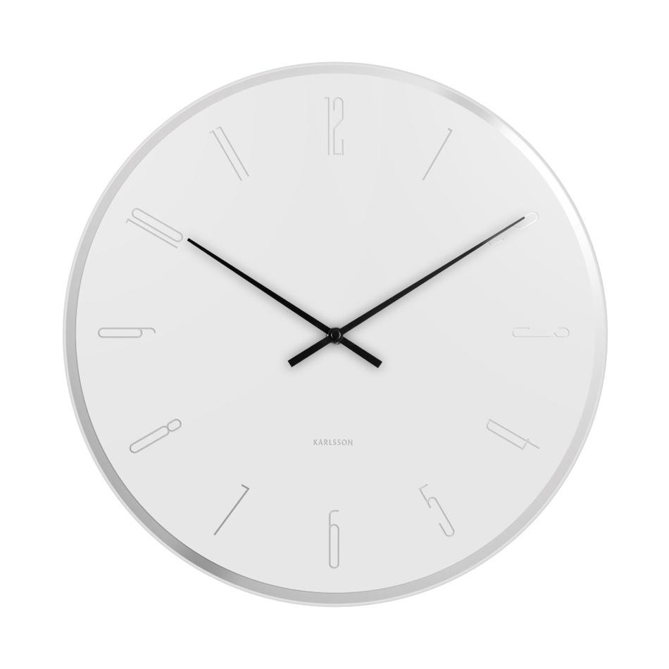 Nástenné hodiny 5800WH Karlsson 40cm
