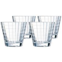4-dielna sada pohárov na whisky Iroko, 320 ml