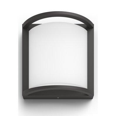 Philips 17391/93/P0 Samondra Venkovní nástěnné LED svítidlo 19 cm, antracit