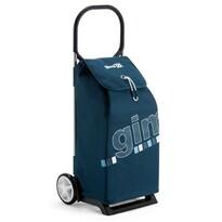 Gimi Italo nákupná taška na kolieskach modrá