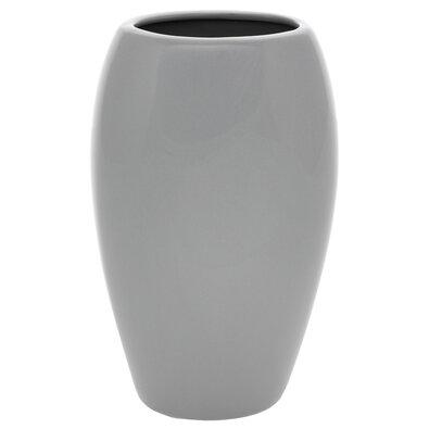 Keramická váza Jar1, 14 x 24 x 10 cm, šedá