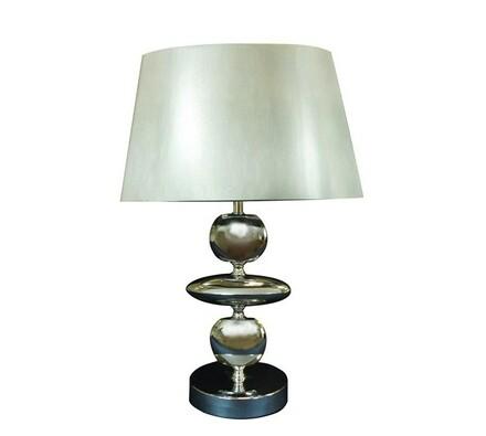 Lampa Silver Bright, stříbrná, 22 x 14 cm