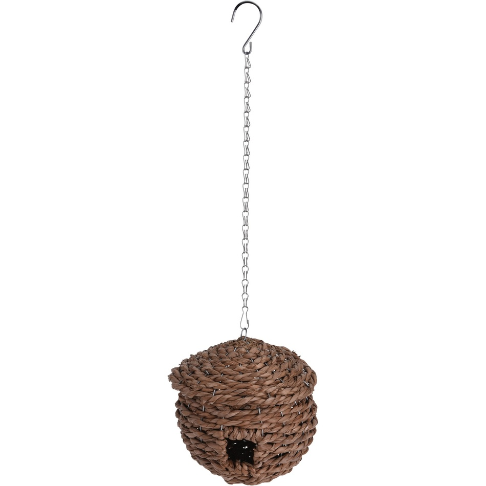 Koopman Proutěná ptačí budka, 23 cm