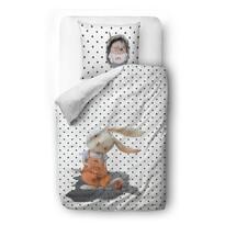 Butter Kings Satynowa pościel dziecięca do łóżeczka Boys from the forest, 100 x 130 cm, 40 x 60 cm