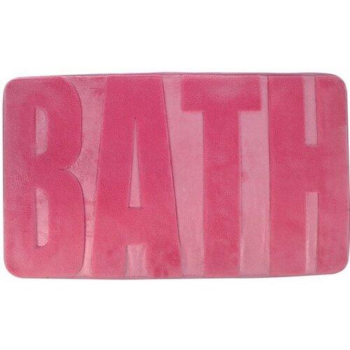 Koopman Koupelnová předložka Bath tmavě růžová, 45 x 75 cm