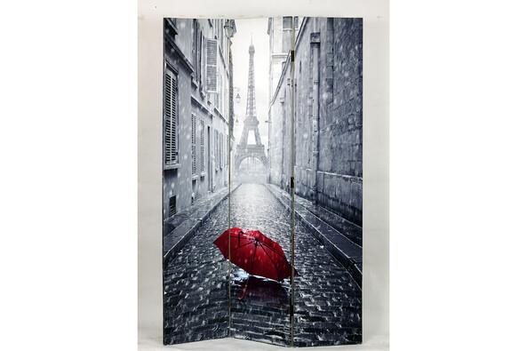 Paravan Paříž v dešti