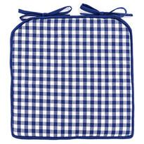 Kocka ülőke, kék, 40 x 40 cm