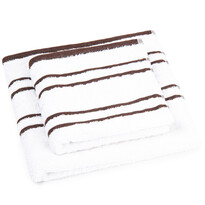 """Zestaw ręczników """"Snow"""" brązowy, 50 x 100cm, 70 x 140cm"""
