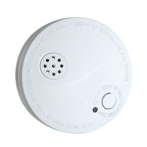 Solight Detektor dymu + alarm biela, 85 dB