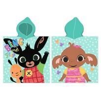 Bing Nyuszi és Sula gyermek poncsó, 55 x 110 cm