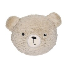 Pernă pufoasă Sweetie diam. 27 cm, ursuleț