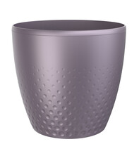 Plastový obal na kvetináč Perla 25 cm, fialová