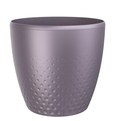 Plastový obal na květináč Perla 25 cm, fialová