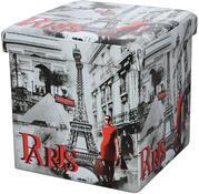 Skládací sedací box s potiskem Paris