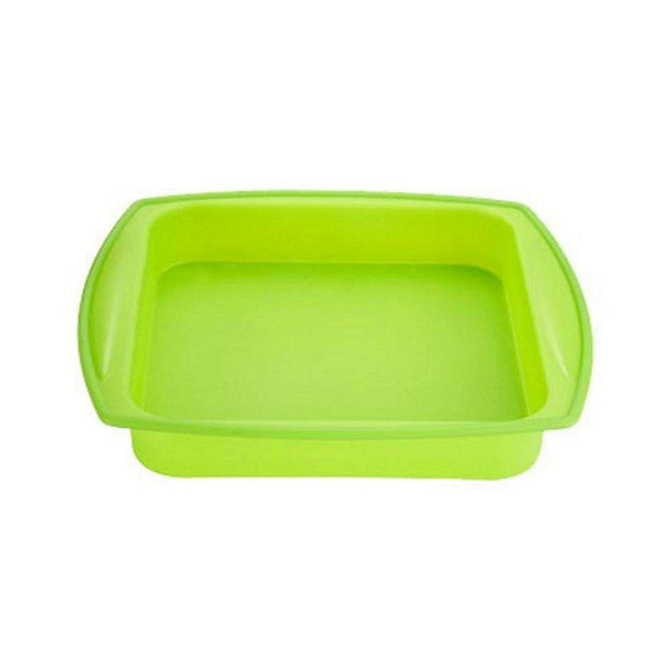 Renberg silikonový pekáč zelený