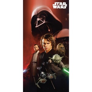 Osuška Star Wars 01, 75 x 150 cm