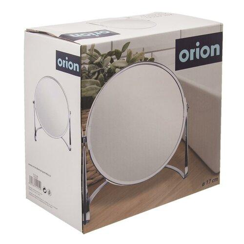 Orion Kosmetické zrcátko se stojánkem Duo, pr. 17 cm