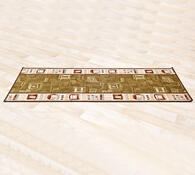 Kobercový běhoun Zara hnědá, 80 x 200 cm