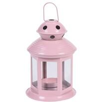 Lucerna na čajovou svíčku Pastels, světle růžová