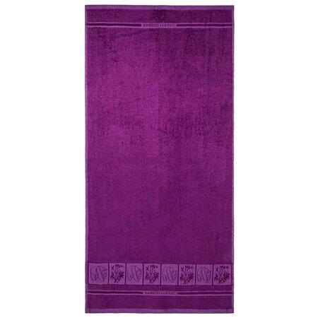 4Home Ręcznik kąpielowy Bamboo Premium fioletowy, 70 x 140 cm