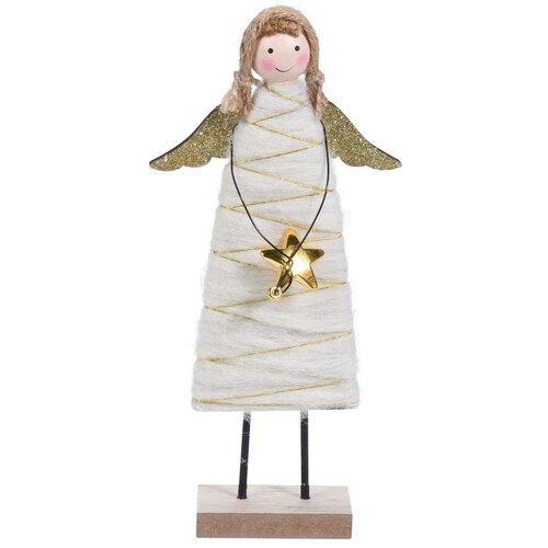 Koopman Karácsonyi angyal Berenice arany, 23 cm