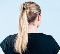 Spona do vlasů, 22 x 2,5 cm