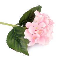 Umělá květina Hortenzie, růžová