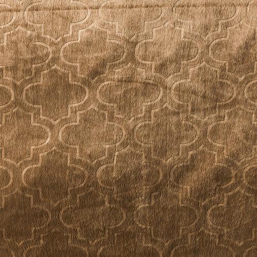 4Home Ágytakaró Salazar barna, 220 x 240 cm, 2x 40 x 40 cm