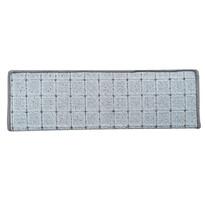 Covoraș pentru scări Udinese oval, bej, 24 x 65 cm