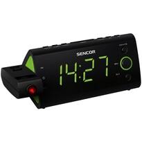 Sencor SRC 330 GN rádiós ébresztőóra vetítő funkcióval